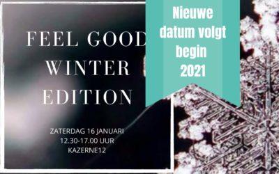 Feel Good Winter Edition op zaterdag 16 januari