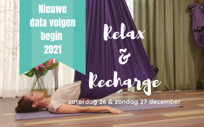 Relax & Recharge workshops 26 & 27 december
