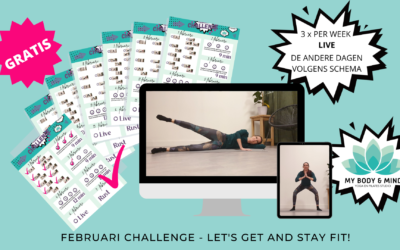 Februari Challenge – Let's get and stay fit